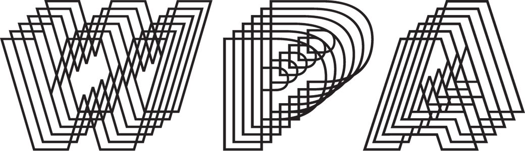 Graphic: logo of the Washington Project for the Arts
