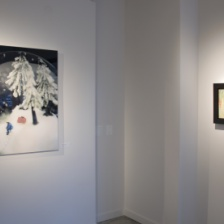 """Mirror Mirrored: Art Meets the Monsters,"" installation view"