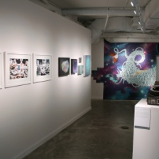 """Other Worlds, Other Stories,"" installation view."