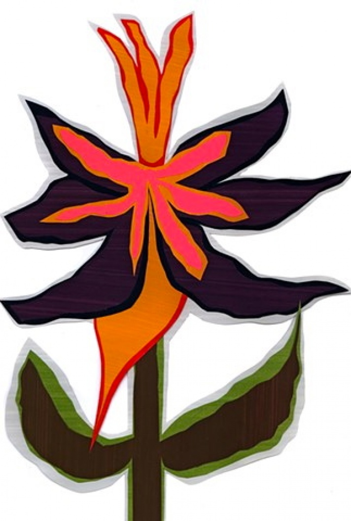 Fc40 Flower Cutout From 113 Flower Symbols Of Love 2005 2005