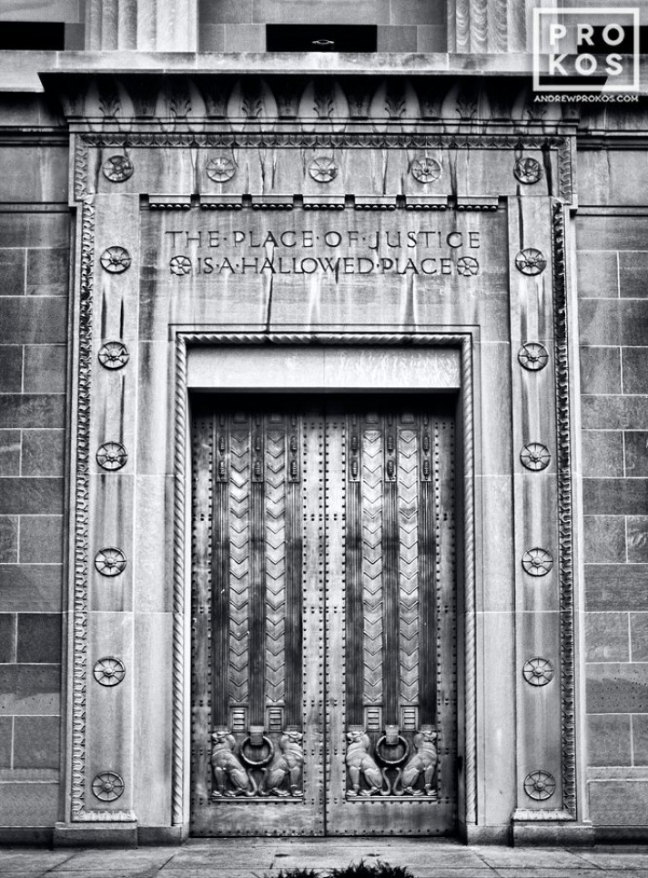 Art Deco Door, U.S. Justice Department