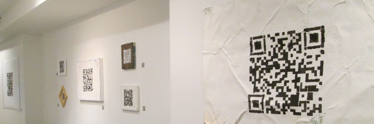 """Installation view of """"Coup d'Espace: Palimpsest"""""""